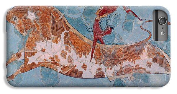The Toreador Fresco, Knossos Palace, Crete IPhone 6 Plus Case by Greek School