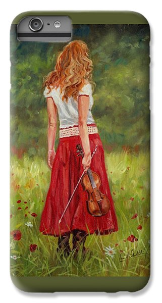 The Violinist IPhone 6 Plus Case by David Stribbling