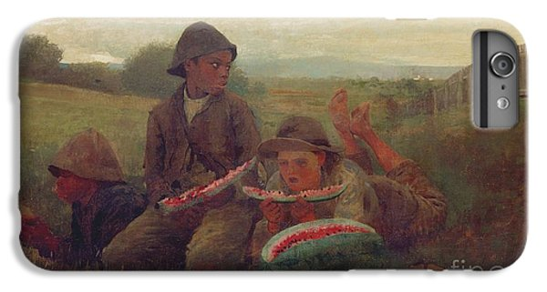 The Watermelon Boys IPhone 6 Plus Case by Winslow Homer