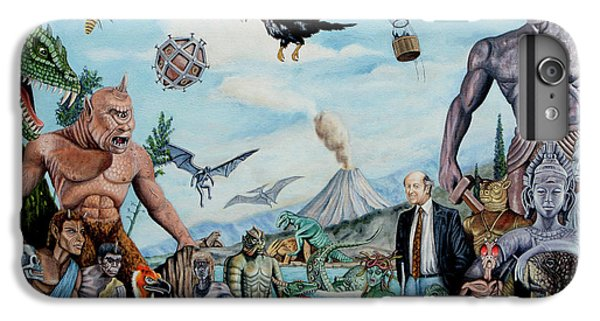 The World Of Ray Harryhausen IPhone 6 Plus Case by Tony Banos