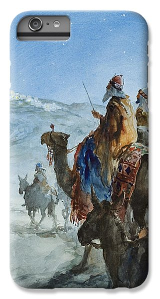 Three Wise Men IPhone 6 Plus Case by Henry Collier
