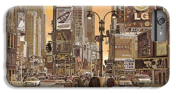 Times Square IPhone 6 Plus Case by Guido Borelli