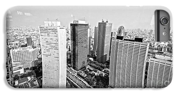 Tokyo Skyline IPhone 6 Plus Case by Pravine Chester