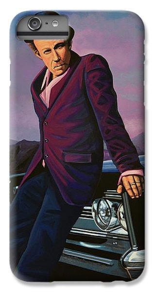 Tom Waits IPhone 6 Plus Case by Paul Meijering