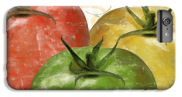 Tomatoes Tomates IPhone 6 Plus Case by Mindy Sommers