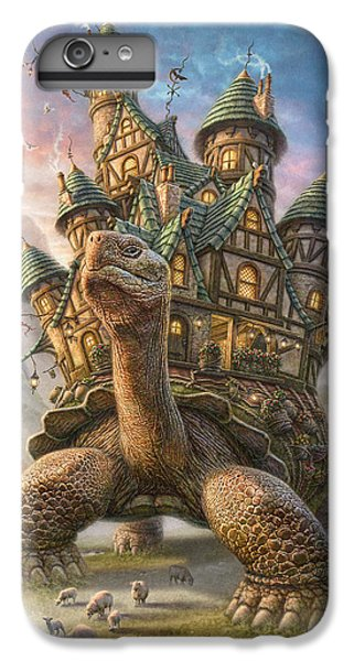 Tortoise House IPhone 6 Plus Case by Phil Jaeger