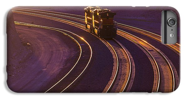 Train At Sunset IPhone 6 Plus Case by Garry Gay