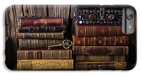 Treasure Box On Old Books IPhone 6 Plus Case by Garry Gay