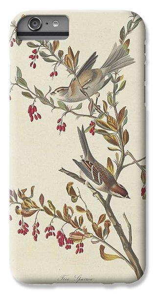 Tree Sparrow IPhone 6 Plus Case by John James Audubon
