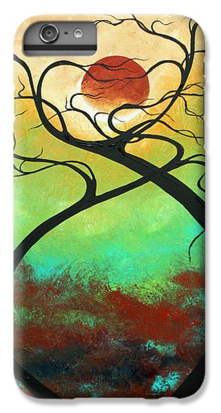 Twisting Love II Original Painting By Madart IPhone 6 Plus Case by Megan Duncanson