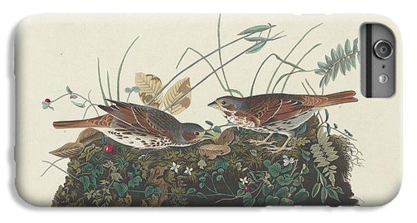 Two-colored Sparrow IPhone 6 Plus Case by John James Audubon