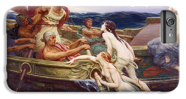 Ulysses And The Sirens IPhone 6 Plus Case by Herbert James Draper