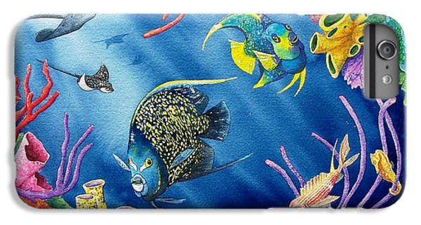 Undersea Garden IPhone 6 Plus Case by Gale Cochran-Smith