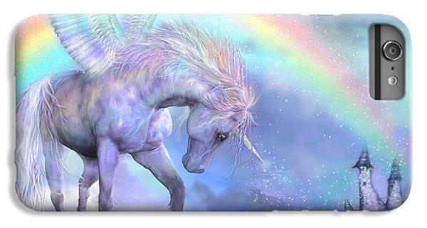 Unicorn Of The Rainbow IPhone 6 Plus Case by Carol Cavalaris