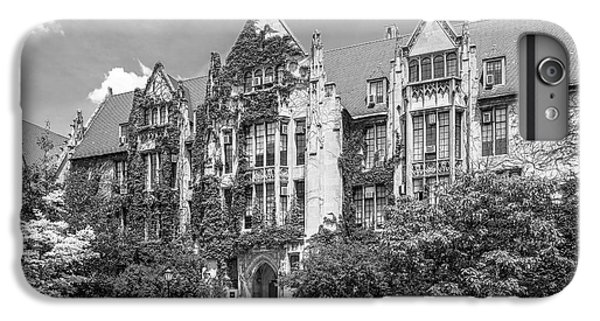 University Of Chicago Eckhart Hall IPhone 6 Plus Case by University Icons