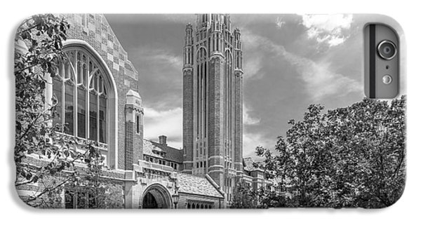 University Of Chicago Saieh Hall For Economics IPhone 6 Plus Case by University Icons