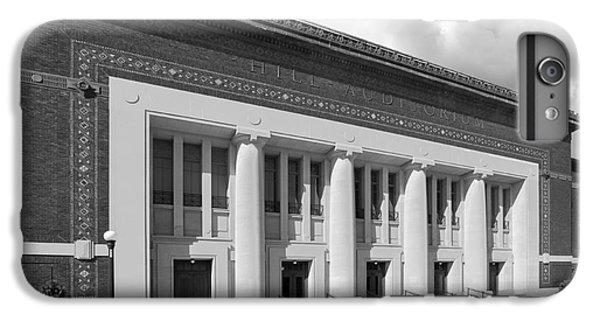 University Of Michigan Hill Auditorium IPhone 6 Plus Case by University Icons