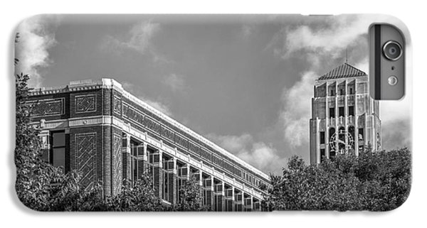 University Of Michigan Natural Sciences Building With Burton Tower IPhone 6 Plus Case by University Icons