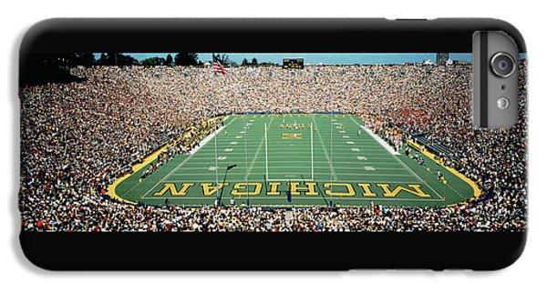 University Of Michigan Stadium, Ann IPhone 6 Plus Case by Panoramic Images