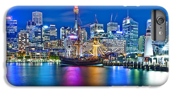 Vibrant Darling Harbour IPhone 6 Plus Case by Az Jackson