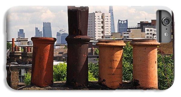 Victorian London Chimney Pots IPhone 6 Plus Case by Rona Black