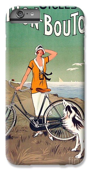Vintage Bicycle Advertising IPhone 6 Plus Case by Mindy Sommers