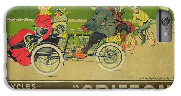 Vintage Poster Bicycle Advertisement IPhone 6 Plus Case by Walter Thor