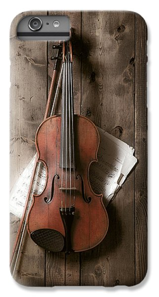 Violin IPhone 6 Plus Case by Garry Gay