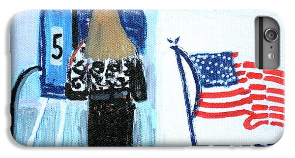 Voting Booth 2008 IPhone 6 Plus Case by Candace Lovely