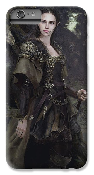 Waldelfe IPhone 6 Plus Case by Eve Ventrue