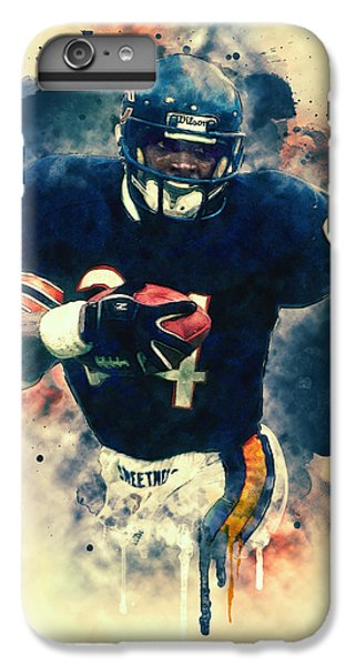 Walter Payton IPhone 6 Plus Case by Taylan Soyturk