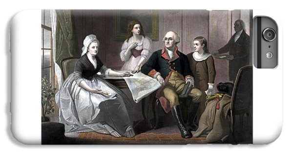 Washington And His Family IPhone 6 Plus Case by War Is Hell Store