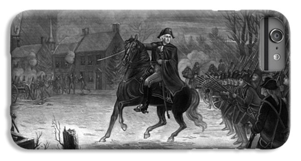 Washington At The Battle Of Trenton IPhone 6 Plus Case by War Is Hell Store
