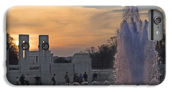 Washington Dc Rhythms  IPhone 6 Plus Case by Betsy Knapp