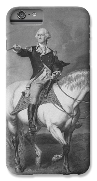 Washington Receiving A Salute At Trenton IPhone 6 Plus Case by War Is Hell Store