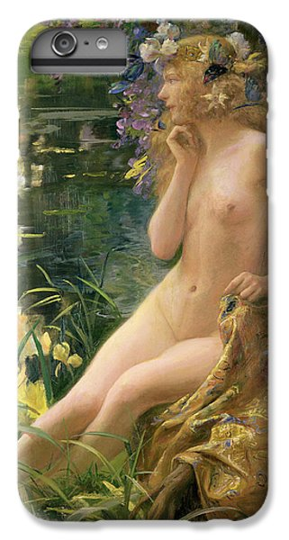 Water Nymph IPhone 6 Plus Case by Gaston Bussiere