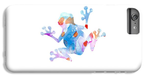 Watercolor Frog IPhone 6 Plus Case by Nursery Art