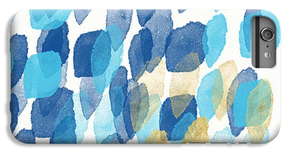 Waterfall- Abstract Art By Linda Woods IPhone 6 Plus Case by Linda Woods