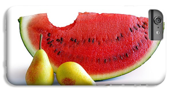 Watermelon And Pears IPhone 6 Plus Case by Carlos Caetano