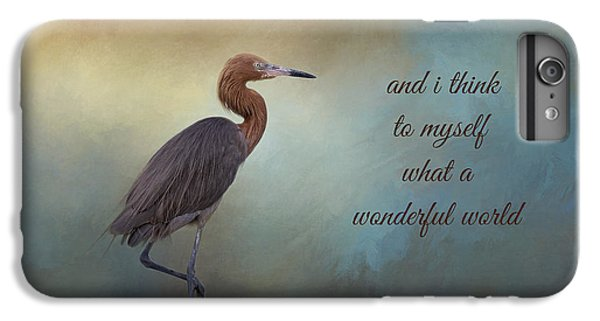 What A Wonderful World IPhone 6 Plus Case by Kim Hojnacki