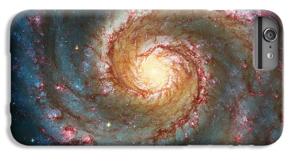 Whirlpool Galaxy  IPhone 6 Plus Case by Jennifer Rondinelli Reilly - Fine Art Photography