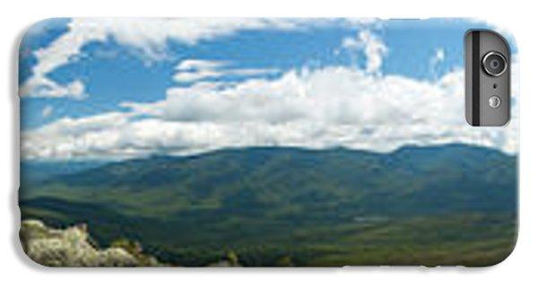 White Mountains Pano IPhone 6 Plus Case by Sebastian Musial