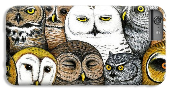 Who's Hoo IPhone 6 Plus Case by Don McMahon