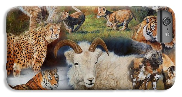 Wildlife Collage IPhone 6 Plus Case by David Stribbling