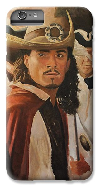 Will Turner IPhone 6 Plus Case by Caleb Thomas