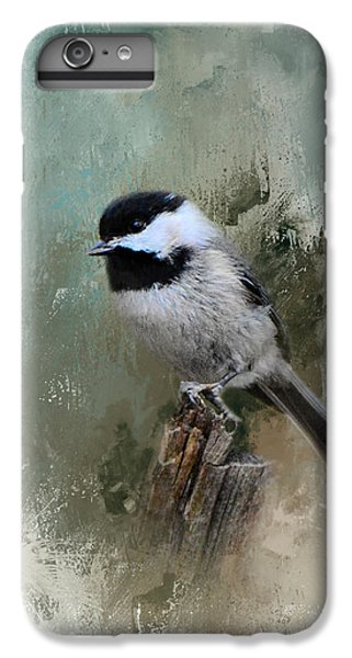 Winter Chickadee IPhone 6 Plus Case by Jai Johnson