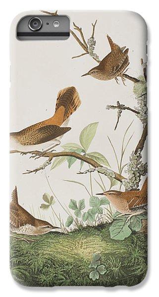 Winter Wren Or Rock Wren IPhone 6 Plus Case by John James Audubon