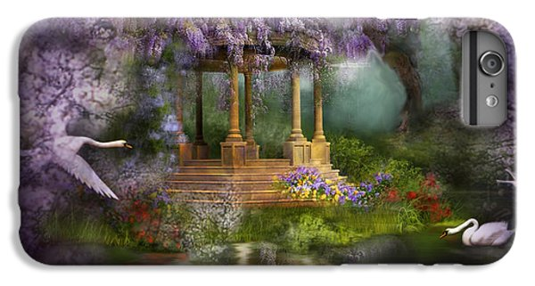 Wisteria Lake IPhone 6 Plus Case by Carol Cavalaris