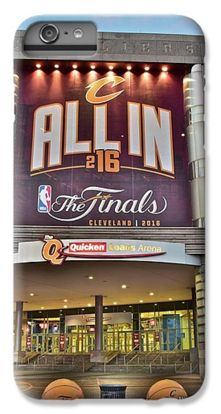 World Champion Cleveland Cavaliers IPhone 6 Plus Case by Frozen in Time Fine Art Photography