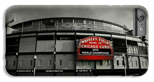 Wrigley Field IPhone 6 Plus Case by Stephen Stookey